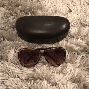 Michael Kors tortoise shell aviator sunglasses!